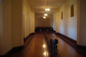 Biltmore Bowling Alley-Seriously, who has a bowling alley in their house?